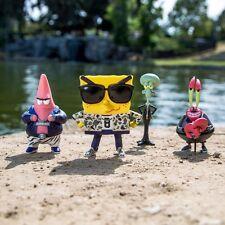 BAIT x SpongeBob 4 Inch Figure Set Of 4 - SpongeBob Patrick Squidward Mr Krabs (