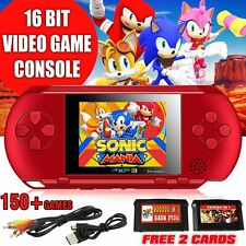 Video Game Console PXP3 Portable Handheld 16 Bit Retro Megadrive Video game PVP