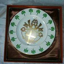 More details for gaius 1979 pope john paul 11 papal visit ireland limited edition plate 2417