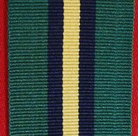 ORIGINAL NEW ZEALAND GENERAL SERVICE MEDAL *SOLOMON ISLANDS* RIBBON FOR MOUNTING
