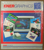 Energraphics by Enertronics - MINT, SEALED - Release 2.2, 1989. For IBM PC, XT,