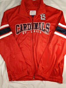 JUST REDUCED X- Large St. Louis Genuine Baseball Cardinals Zip Up Jacket  2014