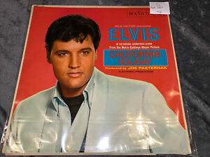 Elvis Presley Rare California Holiday Red Dot Label Uk Record 1966
