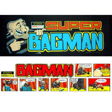 Bagman and Super Bagman Multigame Free Play and High Score Save Kit Arcade