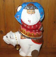 Figuritas de navidad y festividades Papá Noel de madera