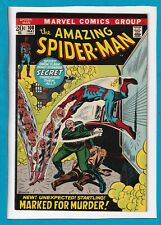 """AMAZING SPIDER-MAN #108_MAY 1972_VF/NM_""""MARKED FOR MURDER""""_BRONZE AGE MARVEL!"""