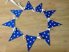 ROYAL BLUE SHOOTING STAR BUNTING - 3 METRES