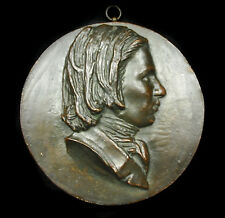 Medallion Portrait Of Profile Of Louis Antoine Of Revolutionary Xixth