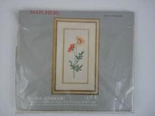 New listing Vtg Frame Crewel Embroidery Kit 7719 Gardening Columbia Minerva Wool Yarn