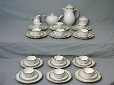 KPM Berlin Kaffee Tee Service für 12 Personen Coffee Tea Set 40 Teilig um 1945
