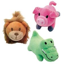 """Lil Pals Plush Toys For Small Dog Puppies 5"""" Choose Gator Pig Lion or Set of 3"""