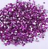 2000Pcs Crystal Flat Back Resin Rhinestones Gems 60 colors, 2-5mm