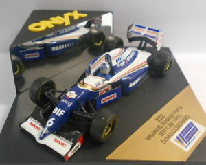 Onyx 1/43 Scale - 232 WILLIAMS RENAULT FW16 TEST CAR 1995 DAVID COULTHARD