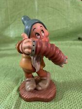 "WDCC Disney's Snow White and the Seven Dwarfs - Bashful - ""Aw Shucks"" No Box"