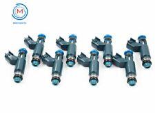 8x Fuel Injectors Fit For  03-09 Jaguar 4.2L 08-09 Land Rover 4.2L 2W93-BA