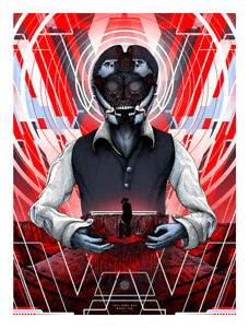 """Westworld Just for You Limited Screen Fluorescent Print Art #50 18"""" x 24"""""""