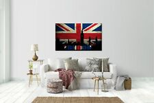Wandtattoo Wandsticker Aufkleber London Skyline Grösse: 120 x 70 cm