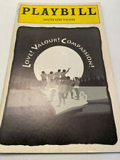LOVE! VALOUR! COMPASSION! PLAYBILL BOOK NEW YORK BROADWAY MARCH 1995 NATHAN LANE