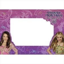 HANNAH MONTANA PHOTO HOLDER NOTES (4) ~ Birthday Party Supplies Favors Disney