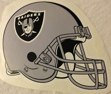 "Oakland Raiders FATHEAD Team Helmet Graphic 16"" x 12"" NFL Wall Graphics Decal"