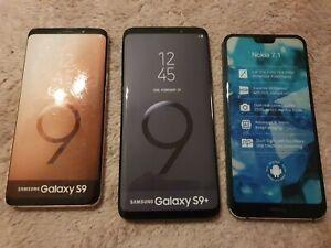 Samsung Galaxy S9 S9+ Nokia 7.1 Display Dummy Phones