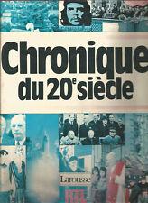 Chroniques du 20e siècle - Larouse - RTL - 1986 - cha