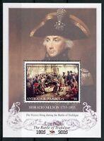 Antigua & Barbuda 2005 MNH Battle of Trafalgar 200th 1v S/S Ships Nelson Stamps