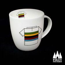 VELO: Cycling Jersey World Champion Jersey inspired Mug Gift By Foley Pottery
