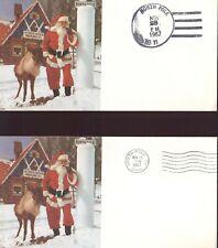 US  NORTH POLE POST OFFICE  N.Y.     Santa's Workshop