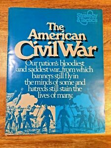 The American Civil War:1861-1865, SPI Circa March 1974 (UNPUNCHED) (G5001)
