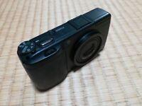 Ricoh GR Digital II 10.1MP Digital Camera Black Point & Shoot GR Lens