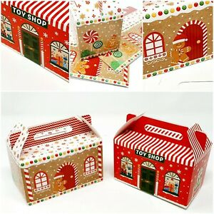 3 Christmas Gift Boxes Santa Candy Sweet Box Eve Wedding Favour Stocking Filler