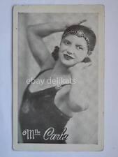 M.lle CARLA Ragazza girl sexy antique foto photo pubblicità 5