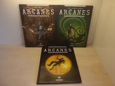 Arcanes par Pécau & Pignault & Rabarot tomes 1 à 3 Delcourt