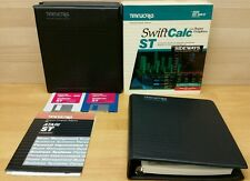 Timeworks SwiftCalc for Atari 520/1040 ST Personal Computer Software RARE!