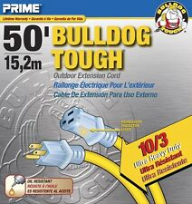 50ft. Bulldog Tough 10/3 SJTOW Yellow w/ Primelight® Indicator Light