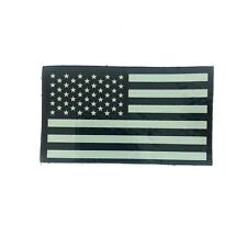 Infrared IR US Flag Patch, Military Army Navy Air Force SEAL, VELCRO® Brand