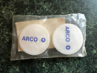 Vintage ARCO SUPREME Gasoline Plastic Bottle Caps -1 1/2 ""