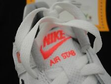 Nike Air Stab, White / Black / Hot Lava, Size 10