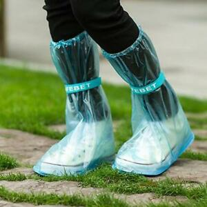 Unisex Waterproof Protector Shoes Boot Cover Rain Shoe Covers Anti-Slip G