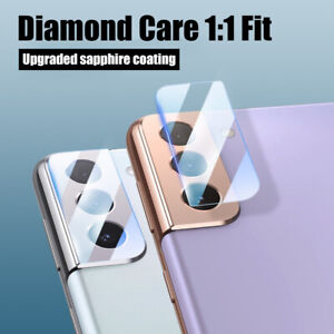 For Samsung Galaxy S21 Ultra Plus S20 FE Note 20 A22 Tempered Glass Camera Lens