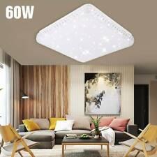 50/60W LED Kristall Deckenleuchte Sternen Himmel Deckenlampe Wohnzimmer