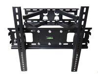 FULL MOTION TILT PLASMA LCD LED TV WALL MOUNT BRACKET 30 32 36 37 40 46 47 50 55