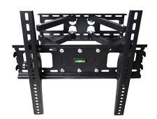 FULL MOTION TILT PLASMA LCD LED TV WALL MOUNT BRACKET 36 40 42 46 47 50 55 LOCK