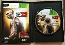 WWE '12 (Microsoft Xbox 360, 2011) - T Rated - Fast Shipping!