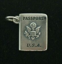 James Avery Sterling Silver Passport Charm