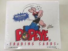 2X Box Popeye 65th Anniversary Trading Card Box 36 packs 1994 plus 8 extra packs
