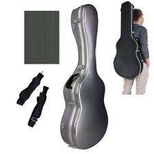 Estuche ABS Plateado y Aluminio para Guitarra Clásica. Funda Plata Marca Cibeles