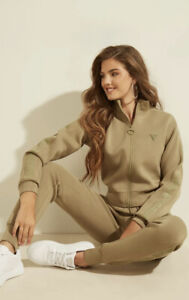 Guess women active beige-green tracksuit XS New Collection