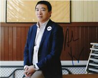 ANDREW YANG 2020 PRESIDENTIAL CANDIDATE SIGNED 8x10 PHOTO J MATH w/EXACT PROOF
